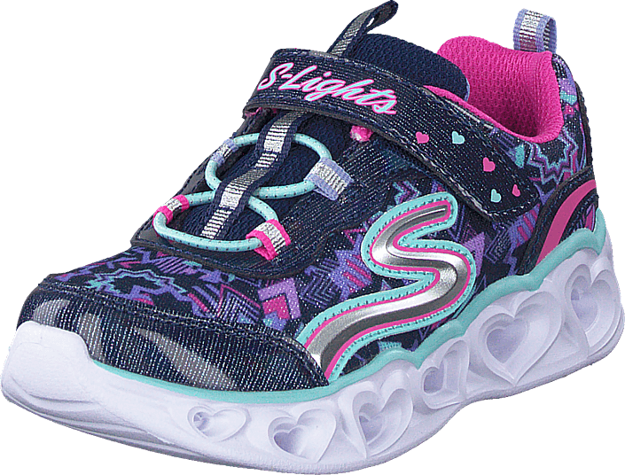 Skechers - Girls Love Lights Nvmt