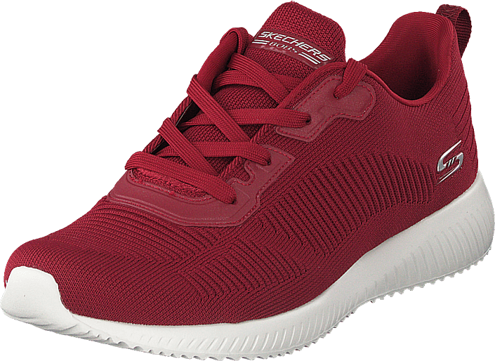 Skechers - Womens Bobs Squad - Tough Talk Red