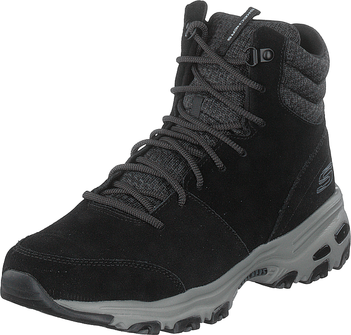 Skechers - Womens D'lites - Chill Flurry Blk