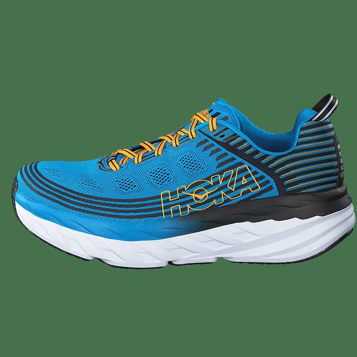 Hoka One One Women's Elevon Running sko Placid Blue Lime Sherbet | 7,5 (US)