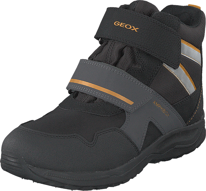 Geox - J Kuray Boy B Abx Black/yellow