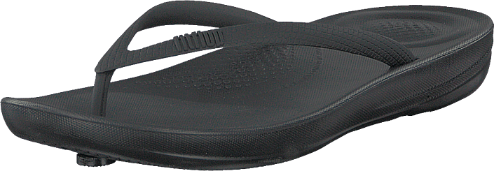 Fitflop - Iqushion Ergonomic Flip-flop All Black