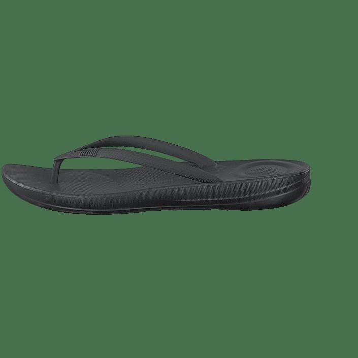 Iqushion Ergonomic Flip flop All Black