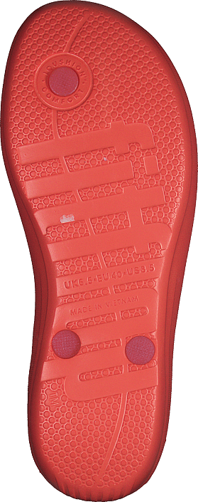Kjøp Fitflop Iqushion - Pearlised Hot Coral Sko Online