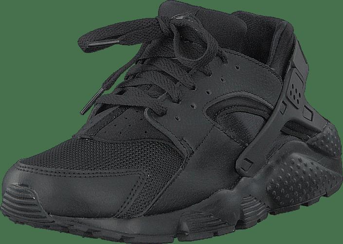Huarache Run (gs) Black/black/black