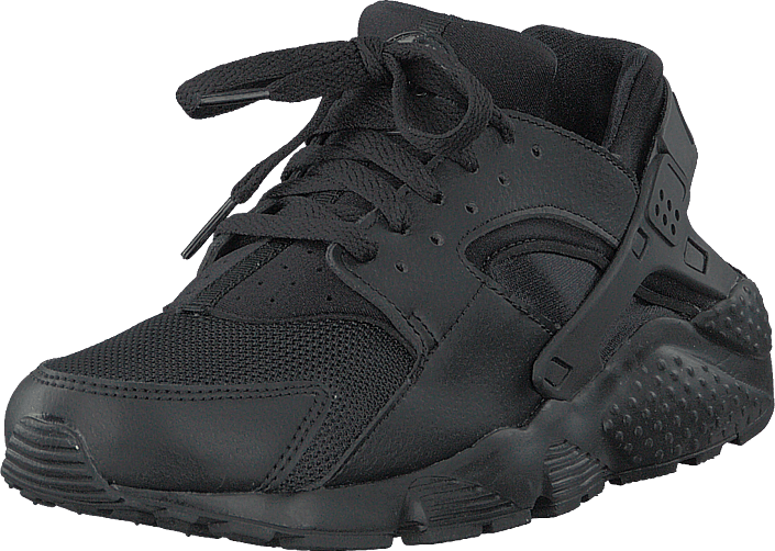 Nike - Huarache Run (gs) Black/black/black