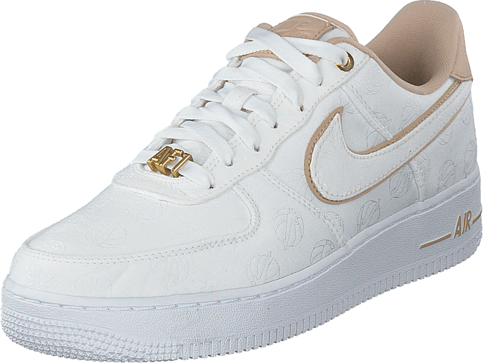 Wmns Air Force 1 '07 Lux Shoe White/white/metallic Gold