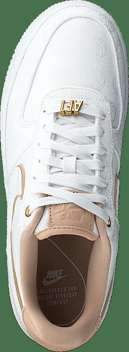 NIKE Air Force 1 Junior Sneakers WhiteGold