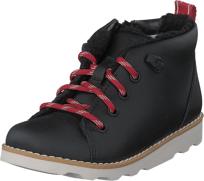 Clarks - Crown Tor T Black Leather