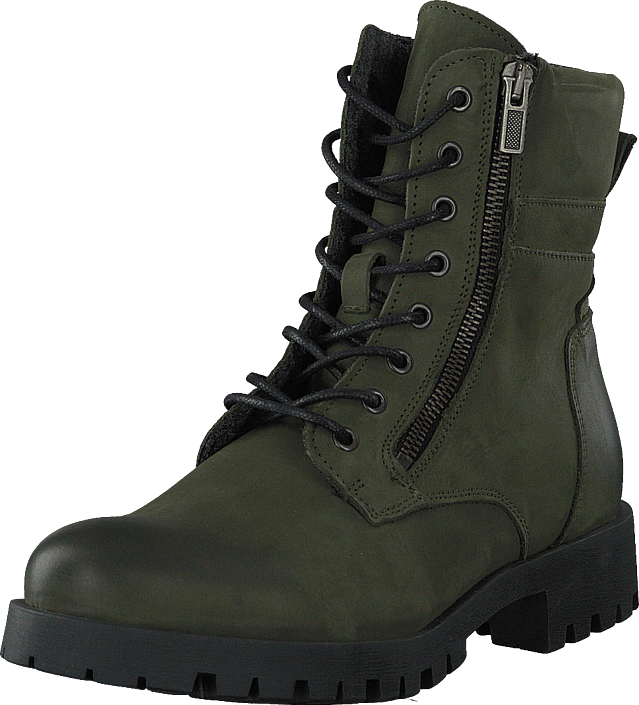 Bianco - Biacollins Winter Leather Boot Army Green