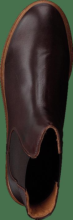 Kjøp Bianco Biastella Cleated Chelsea Dark Brown Sko Online