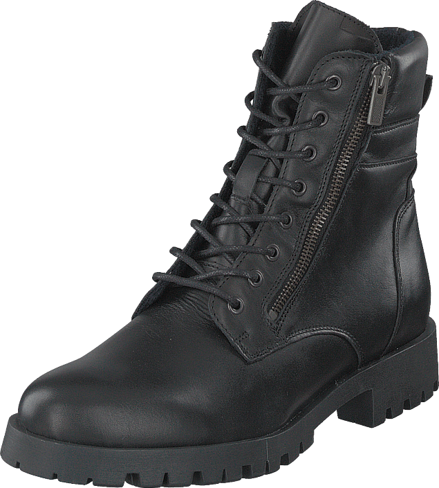 Biacollins Winter Leather Boot Black