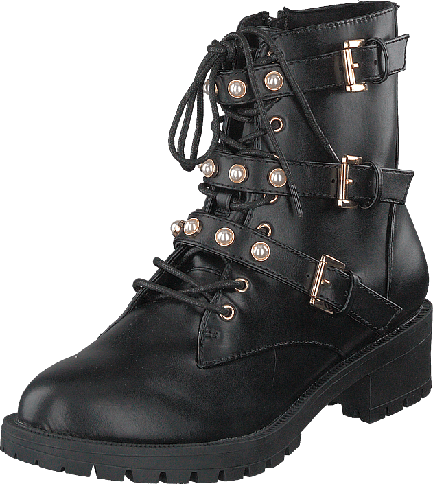 Bianco - Biapearl Biker Boot Black