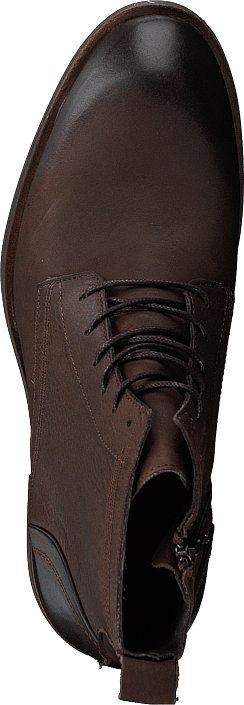 Hommes Chaussures Acheter Bianco Biabyron Leather Lace Up Boot Dark marron Chaussures Online