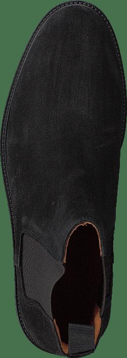 Biachain Leather Chelsea Black