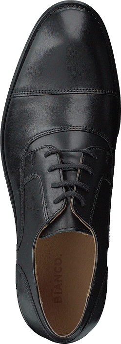 Kjøp Bianco Biaabbot Leather Derby Black Sko Online