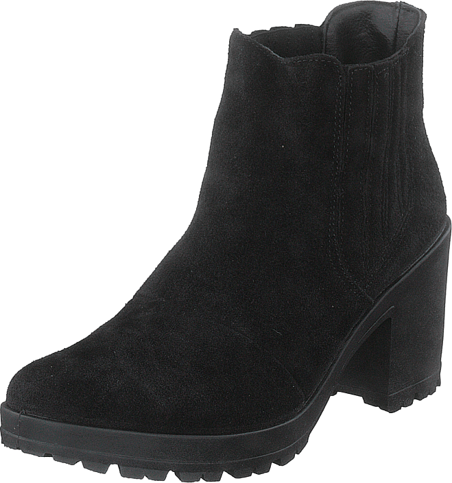 Bianco - Biacorvina Suede Boot Black