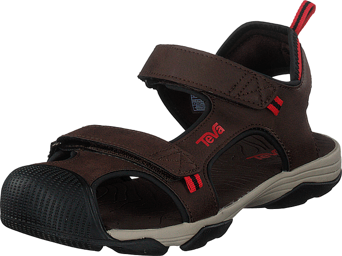 Teva - Toachi 4 Chocolate/black/red
