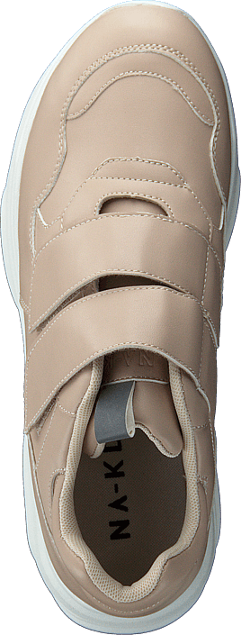 Kjøp Na-kd Double Velcro Chunky Trainers Beige Sko Online