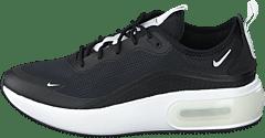 Dam Nike Air Max Dia PlumSvartVit Löparskor Rea Billigt