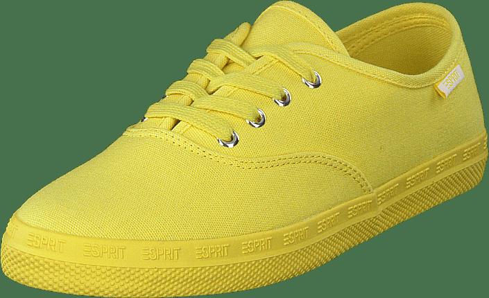 Kjøp Esprit Nita Lace Up Bright Yellow sko Online | FOOTWAY.no