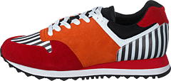 Serena Jollity Orange / Red / Black