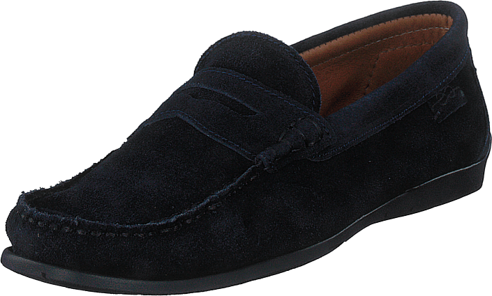 Marstrand - Driving Loafer Sde Navy