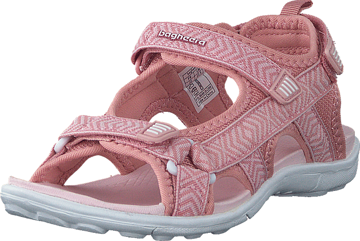 Bagheera - Onyx Jr Soft Pink/white