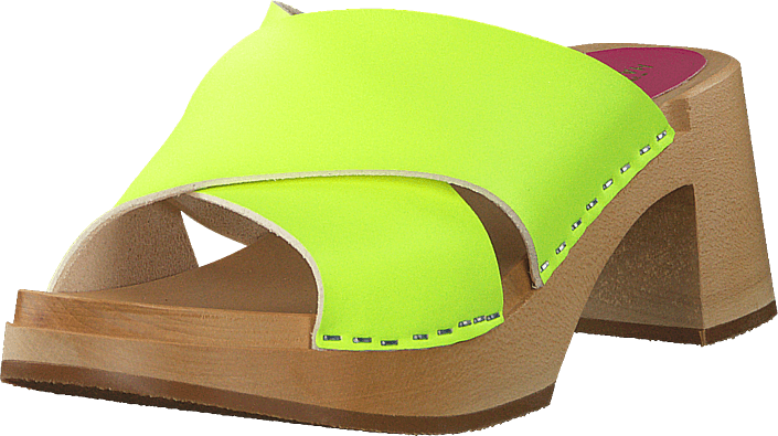 Anette High Neon Yellow