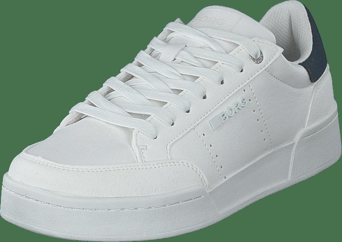 T1316 Spt M White/navy