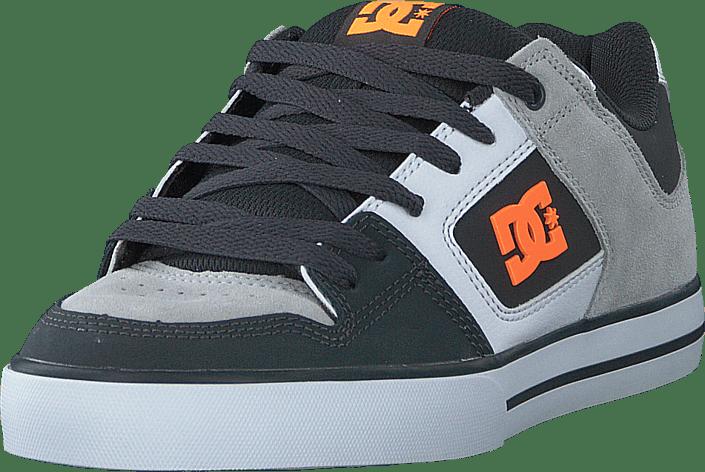 DC Shoes - Pure Dark Grey/orange