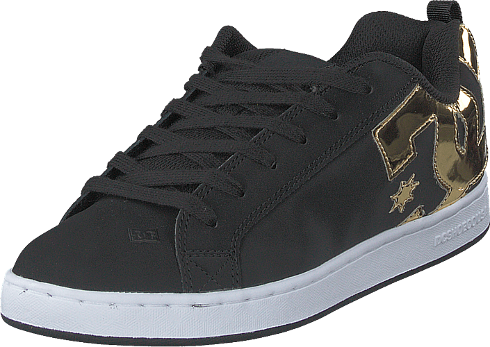 DC Shoes - Court Graffik Black/gold