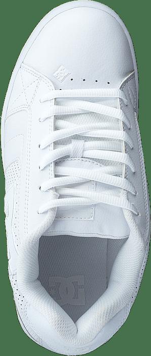 Hommes Chaussures Acheter DC Shoes Net Blanc/Blanc/gum Chaussures Online