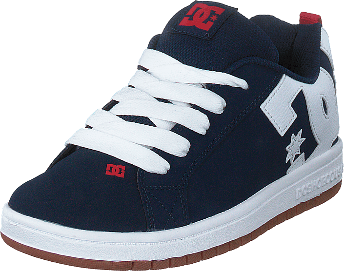 DC Shoes - Court Graffik Navy/gum