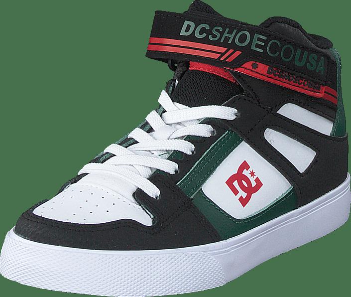 DC Shoes - Pure High.top Ev Black/green