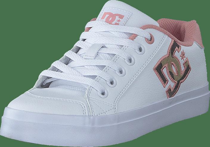 DC Shoes - Chelsea Plus Se Sn White/pink