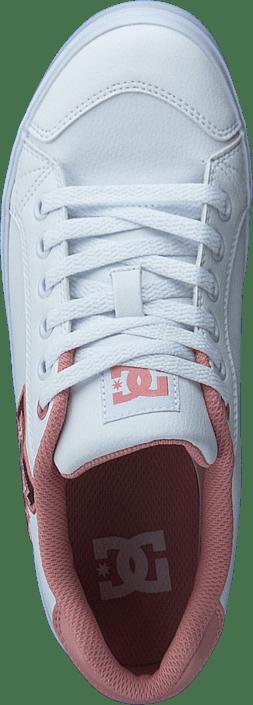 Kjøp Dc Shoes Chelsea Plus Se Sn White/pink Sko Online
