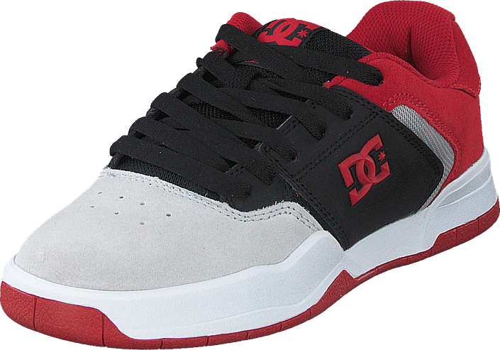 DC Shoes - Central Black/red/grey