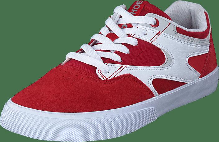 DC Shoes - Kalis Vulc Red/white