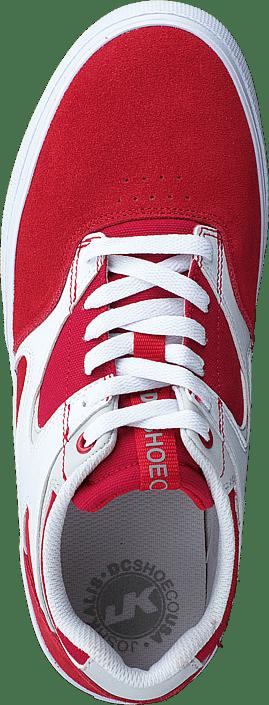 Kjøp Dc Shoes Kalis Vulc Red/white Sko Online