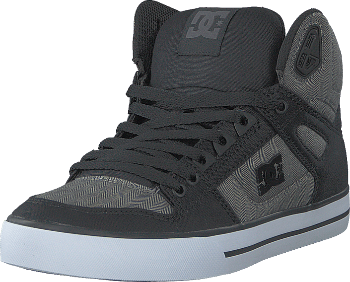 DC Shoes - Pure High-top  Wc Tx Se Black/herringbone