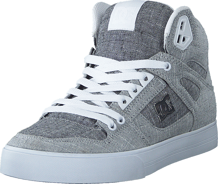 DC Shoes - Pure High-top  Wc Tx Se Grey/grey/white