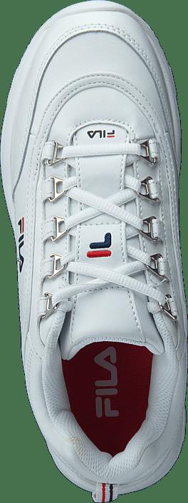Kjøp Fila Strada Low Wmn White Sko Online