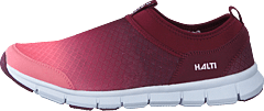Lente W Leisure Shoe Rhubard Red/fusion Coral