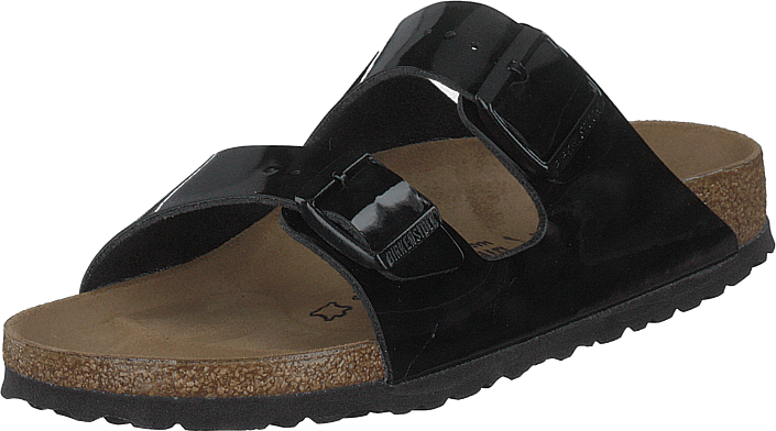 Birkenstock - Arizona Patent Black