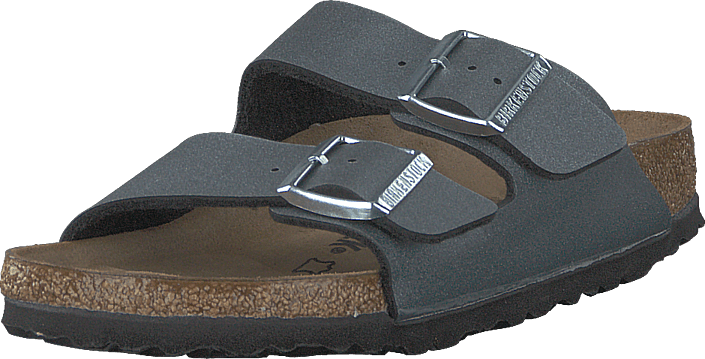 Birkenstock - Arizona Icy Metallic Anthracite
