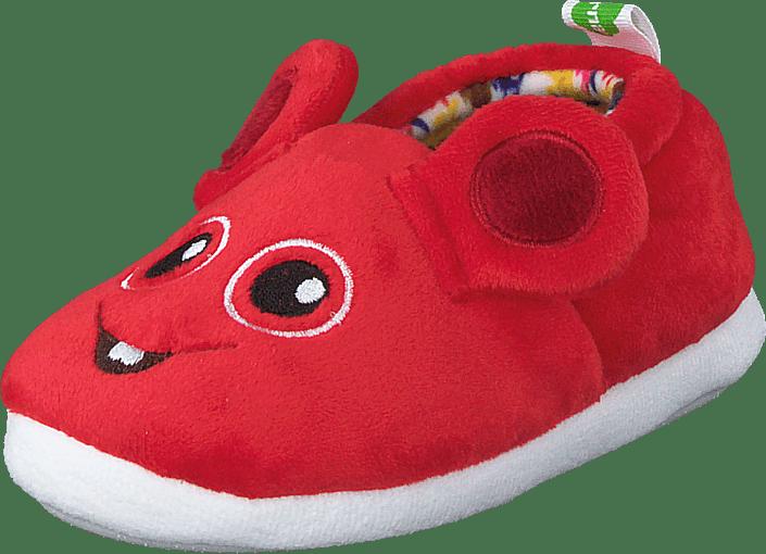 Vincent - Bobbo Red Slipper Red
