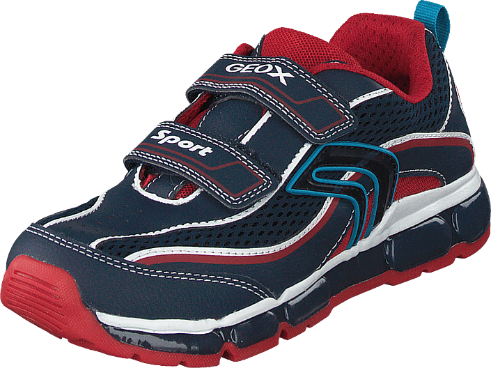 Geox - J Android Boy Navy/red