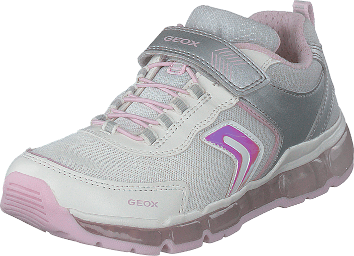 Geox - J Android Girl Silver/white