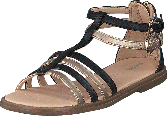 Geox - J Sandal Karly Girl Black/platinium